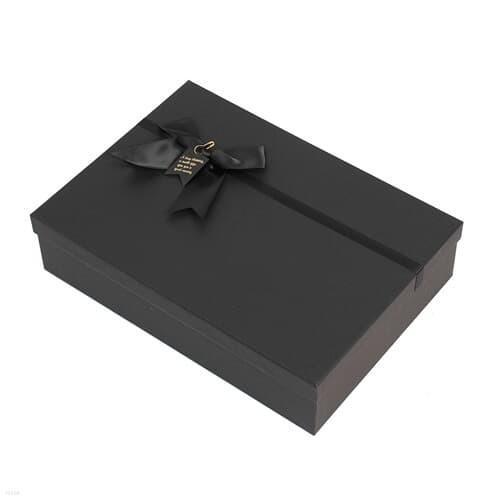 모던블랙 리본 선물상자(35.5x25cm) 기프트박스