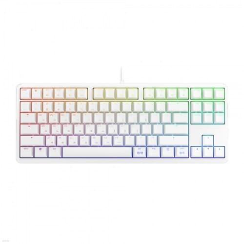 CHERRY G80-3000S RGB TKL (화이트, 적축) 기계식키보드