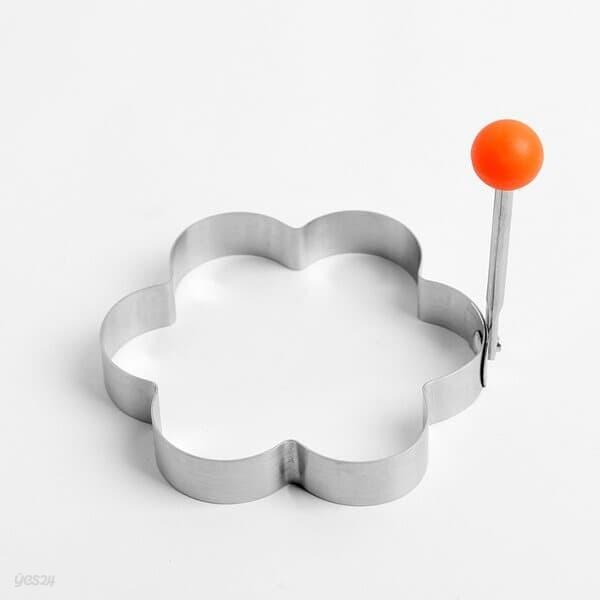 [쿠킹스]꽃모양 후라이 계란틀/달걀 모양틀 후라이틀