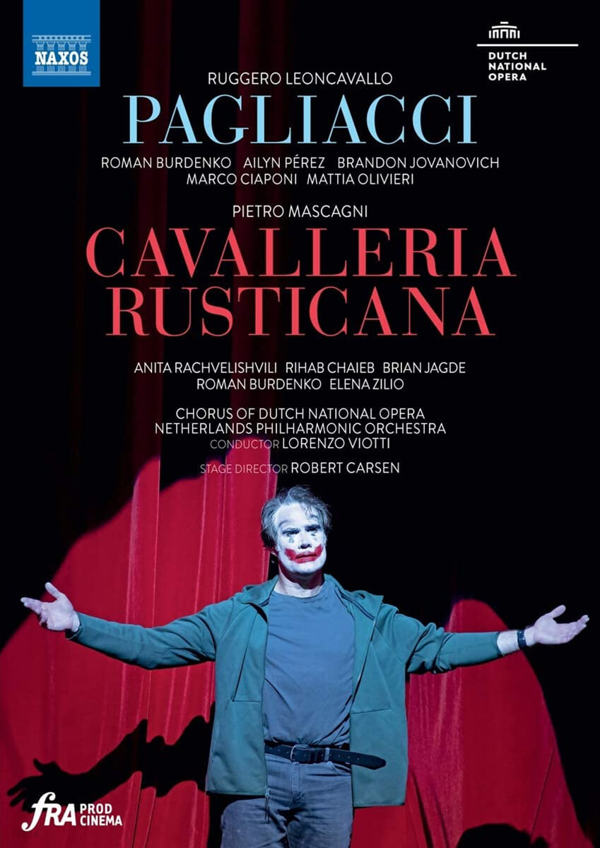 Lorenzo Viotti 레온카발로: 오페라 '팔리아치' / 마스카니: 오페라 '카발레리아 루스티카나' (Leoncavallo: Pagliacci / Mascagni: Cavalleria Rusticana)