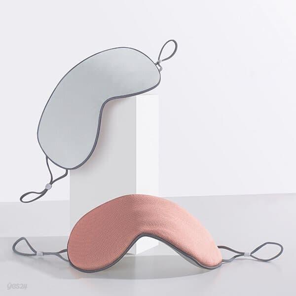 딥슬리핑 양면 수면안대 2p 냉온 커플 눈가리개