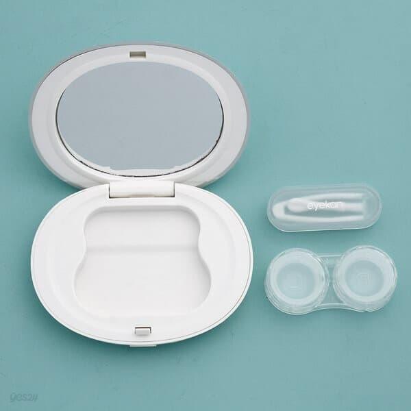아이칸 거울 렌즈케이스 2p세트 콘택트렌즈통