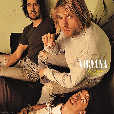 Nirvana (너바나) - California Live 1991 [옐로우 컬러 LP]