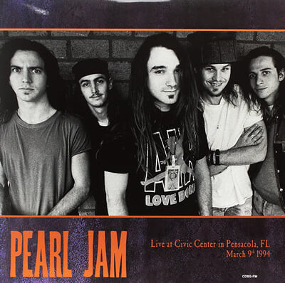 Pearl Jam (펄 잼) - Live At Civic Center In Pensacola, FL March 9th 1994 [옐로우 컬러 2LP]