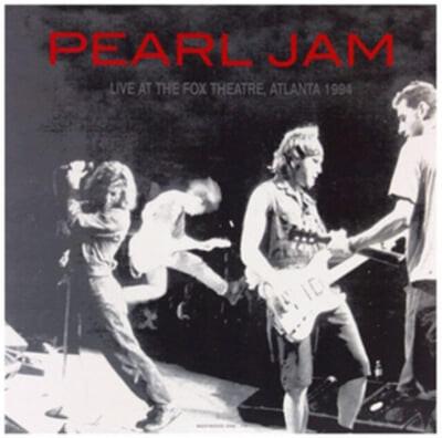 Pearl Jam (펄 잼) - Live At The Fox Theatre, Atlanta 1994 [오렌지 컬러 LP]
