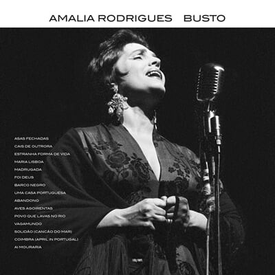 Amalia Rodrigues (아말리아 로드리게스) - Busto [LP]