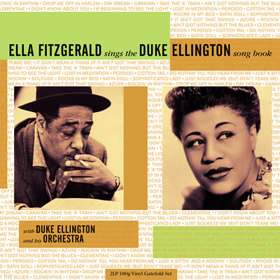 Ella Fitzgerald (엘라 피츠제럴드) - Ella Fitzgerald Sings The Duke Ellington Songbook [2LP]