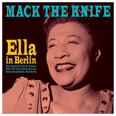 Ella Fitzgerald (엘라 피츠제럴드) - Mack the Knife : Ella in Berlin [LP]
