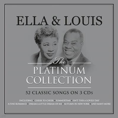 Ella Fitzgerald / Louis Armstrong (엘라 피츠제럴드 / 루이 암스트롱) - Ella & Louis The Platinum Collection