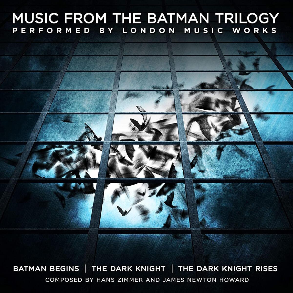 배트맨 트릴로지 영화음악 (Music From The Batman Trilogy by Hans Zimmer / James Newton Howard) [옐로우 컬러 2LP]