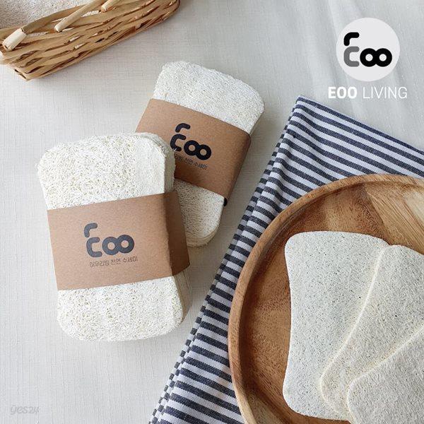 EOO 천연수세미 10개 1세트
