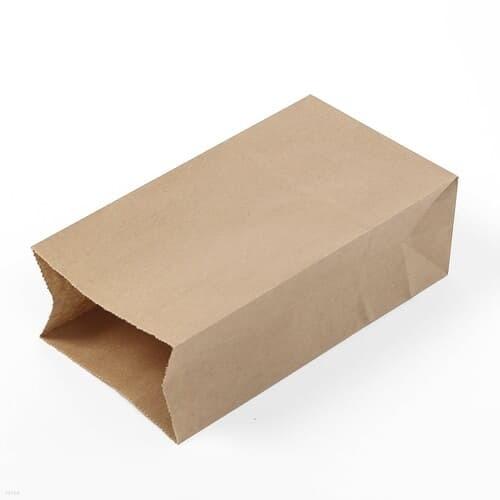 무지 크라프트 봉투 100p세트 답례품 갈색 각대봉투