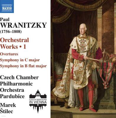 Marek Stilec 파울 브라니츠키: 관현악 작품 1집 (Paul Wranitzky: Orchestral Works Vol. 1)