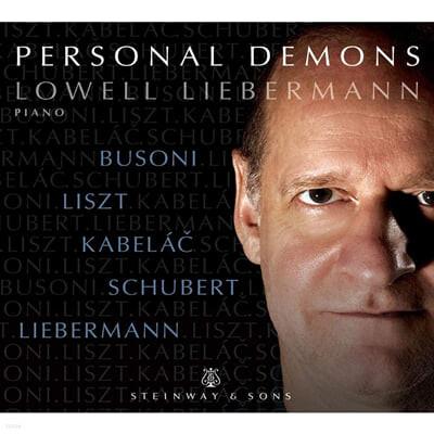 Lowell Liebermann 슈베르트: 휘텐브레너 변주곡 / 리스트: 죽음의 춤 (Schubert: 13 Variations on a theme by Anselm Huttenbrenner D576 / Liszt: Totentanz S.525)