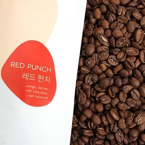 [브라운펀치 커피 원두] 과일의 산마와 허브향의 커피 레드 펀치 200g
