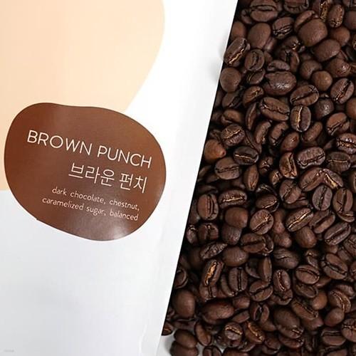 [브라운펀치 커피 원두] 부드럽고 고소한 커피 브라운펀치 200g