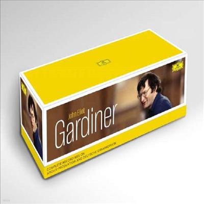 가디너 Archiv & DG 전집 (John Eliot Gardiner - Complete Recordings on Archiv Produktion & Deutsche Grammophon) (104CD Boxset) - John Eliot Gardiner