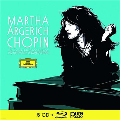 아르헤리치 쇼팽 녹음 (Martha Argerich - Chopin (5CD + Blu-ray Audio) - Martha Argerich