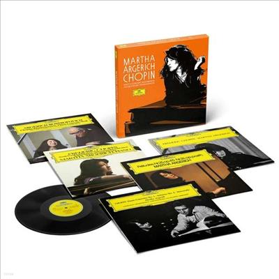 아르헤리치 쇼팽 녹음 (Martha Argerich - Chopin Solo & Concerto-Recordings on Deutsche Grammophon) (180g)(5LP Boxset) - Martha Argerich