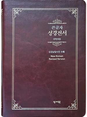 성경전서 NKR73ESB (기획/개역개정/대/색인/무지퍼/초코)
