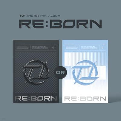 티오원 (TO1) - 미니앨범 1집 : RE:BORN [R 또는 B ver. 1종 랜덤 발송]