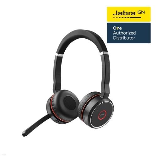 [Jabra]자브라 Evolve75 Stereo 블루투스 헤드셋/원격수업/온라인수업