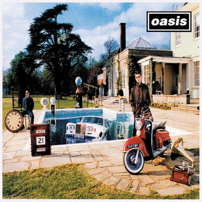 Oasis (오아시스) - 3집 Be Here Now [2LP]