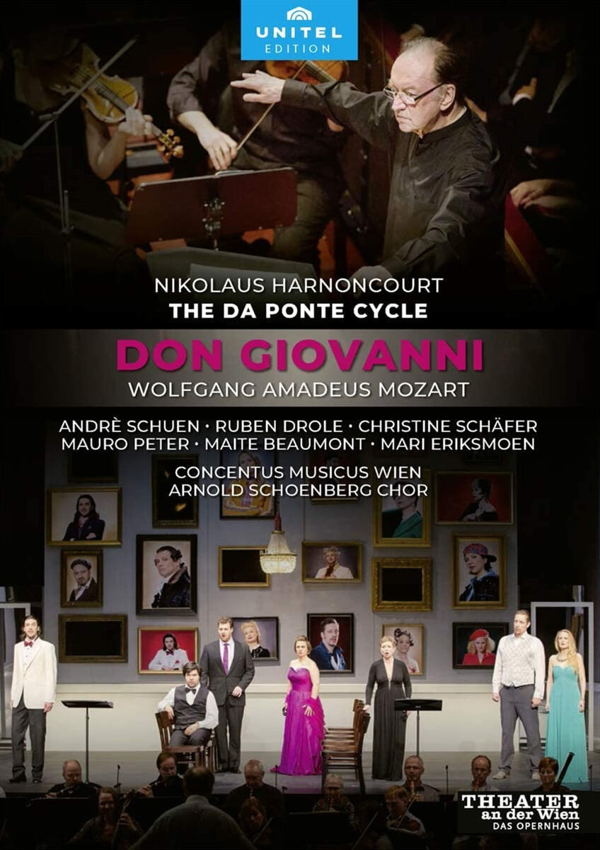 Nikolaus Harnoncourt 모차르트: 오페라 '돈 죠반니' (Wolfgang Amadeus Mozart: Don Giovanni)