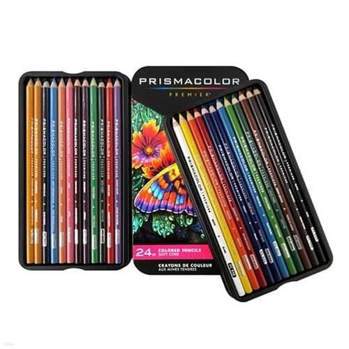 [프리즈마] 유성색연필 24색 세트