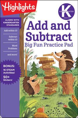 Kindergarten Add and Subtract