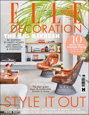 Elle Decoration UK (월간) : 2021년 06월