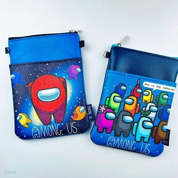 어몽어스 정품 어린이 포켓 크로스 핸드폰 파우치