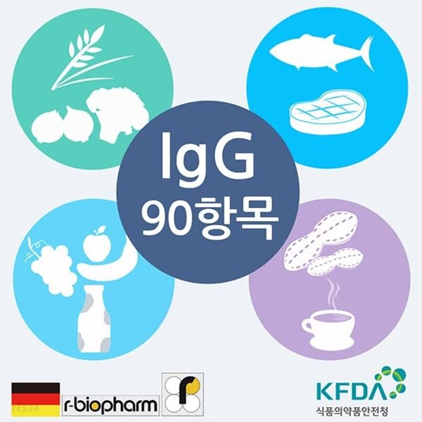 큐체크 지연성 알러지검사(IgG) 90종