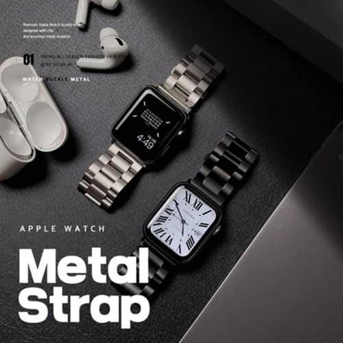 애플워치 메탈 버클 스트랩 밴드 2color