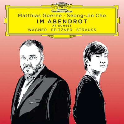 마티아스 괴르네 / 조성진 - 바그너 / 피츠너 / 슈트라우스: 독일 가곡집 (Matthias Goerne - Im Abendrot) [2LP]
