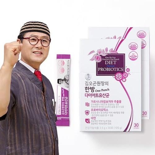 김오곤원장의 한방 다이어트 유산균 3.5g X 90포 (105g)/3개월