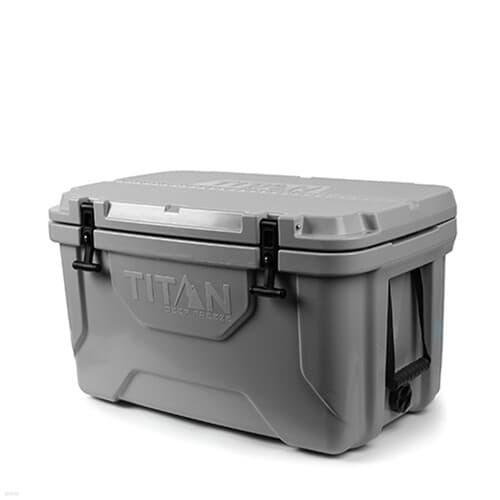 [타이탄쿨러] 52L 프리미엄 아이스 박스 (그레이)