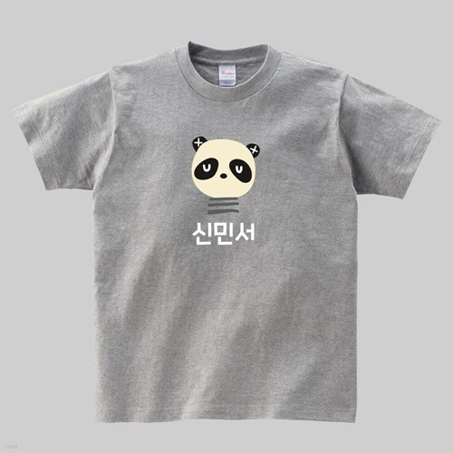 [주문제작]티셔츠 해피프렌즈