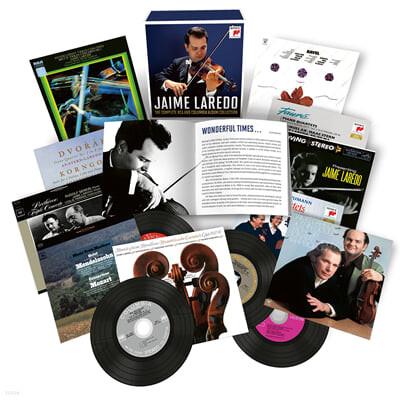 제이미 라레도 RCA, 콜롬비아 녹음 모음집 (Jaime Laredo - The Complete RCA and Columbia Album Collection)