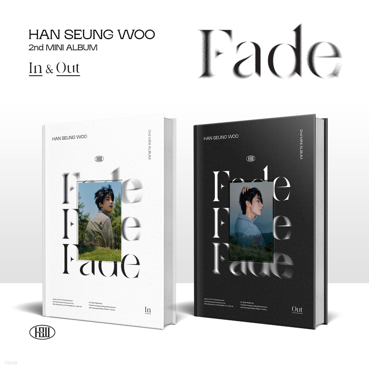 한승우 - 미니앨범 2집 : Fade [SET]
