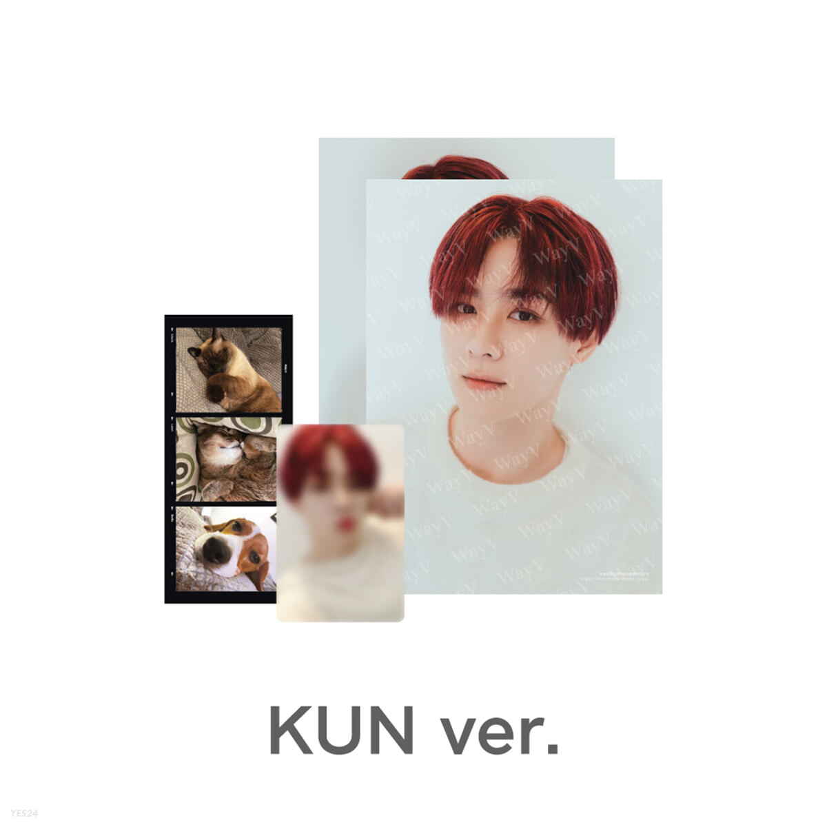 [KUN] PHOTO PACK [Our Home : WayV with Little Friends]