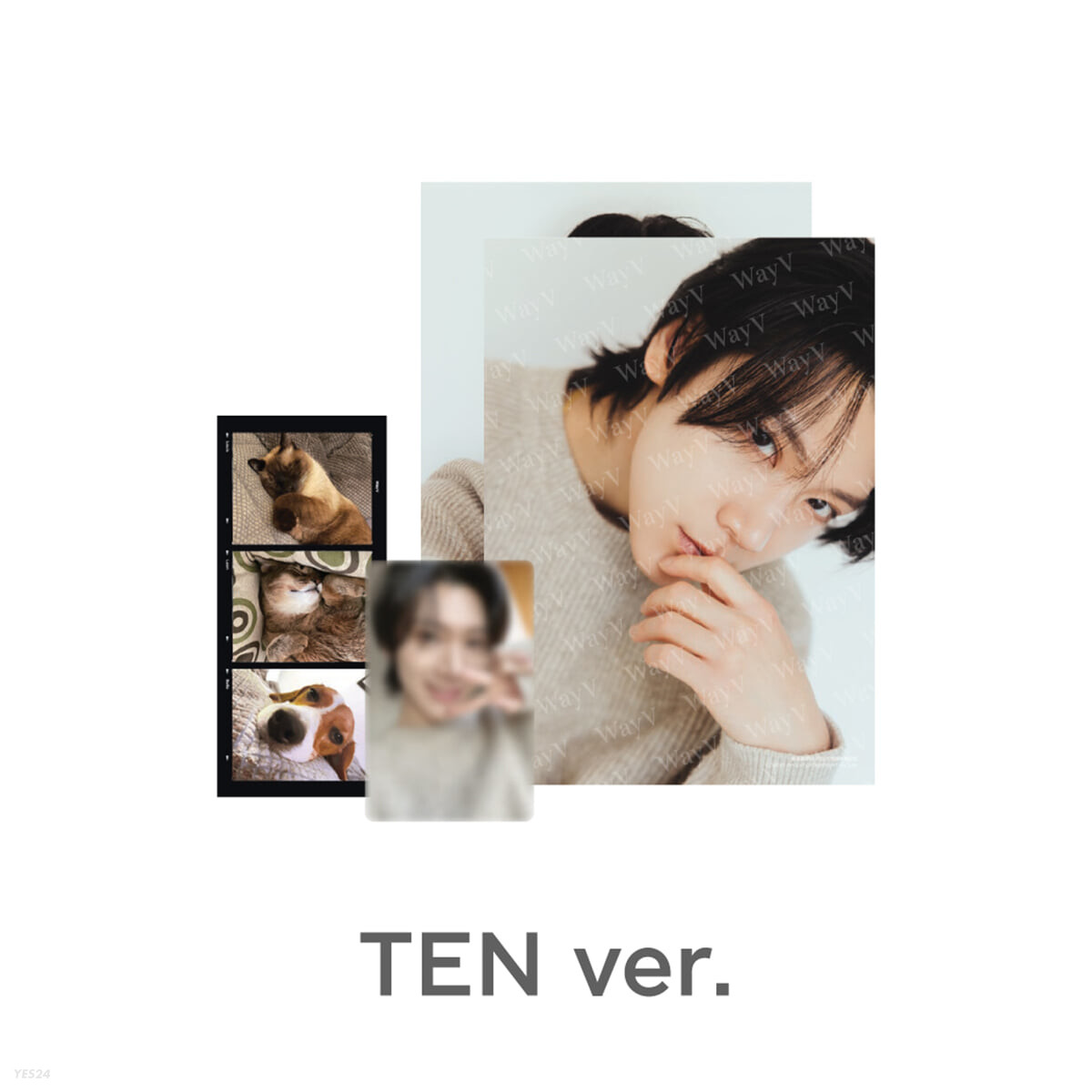 [TEN] PHOTO PACK [Our Home : WayV with Little Friends]