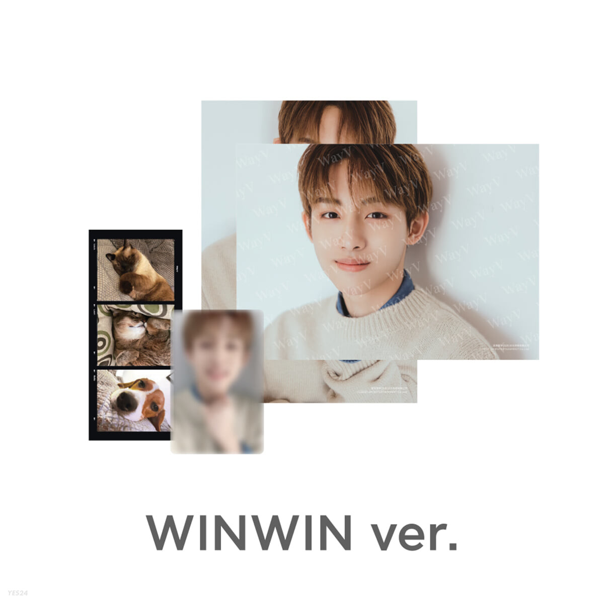 [WINWIN] PHOTO PACK [Our Home : WayV with Little Friends]