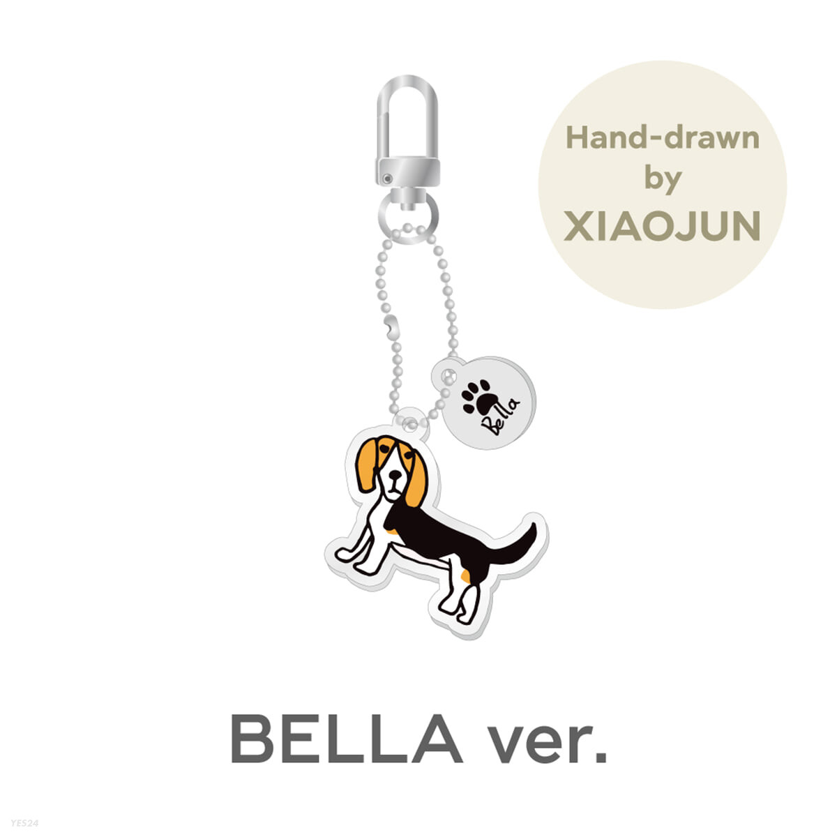 [XIAOJUN] ACRYLIC KEY RING CHARM_BELLA Ver. [Our Home : WayV with Little Friends]