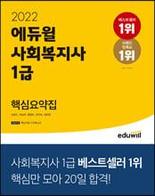 2022 에듀윌 사회복지사 1급 핵심요약집