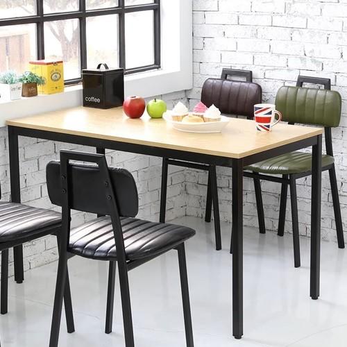 더조아가구 모던테이블1200x600 8패턴컬러 컴퓨터테이블 노트북테이블 사무용책상 식탁
