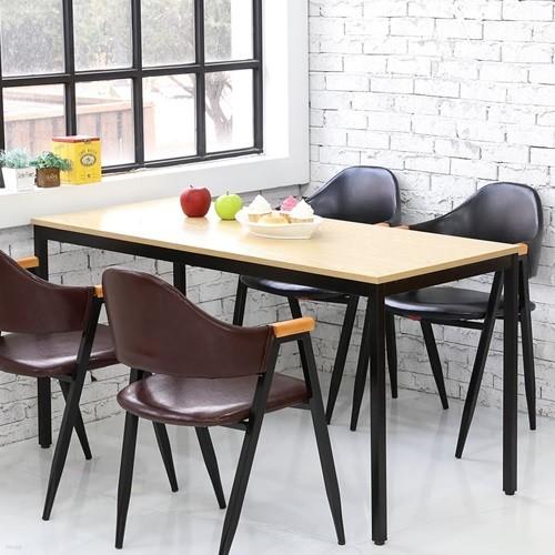 더조아가구 모던테이블1400x600 8패턴컬러 컴퓨터테이블 노트북테이블 사무용책상 식탁