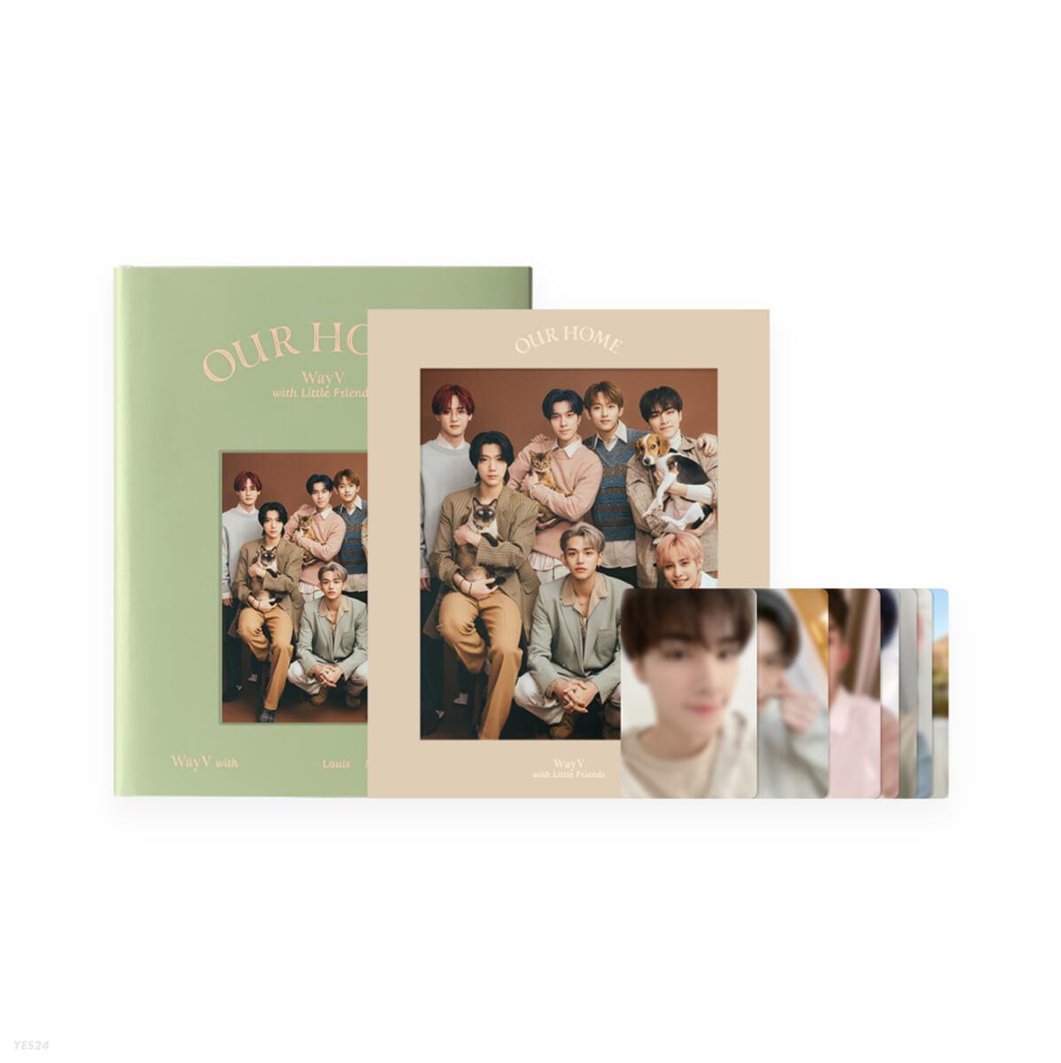웨이션V (WayV) - Our Home : WayV with Little Friends 포토북