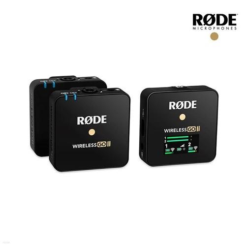 [정식수입품] 로데 Wireless GO 2 2채널 무선 마이크 와이어리스 고 방송용 유튜브 유튜버 줌 녹음용 촬영 카메라마이크