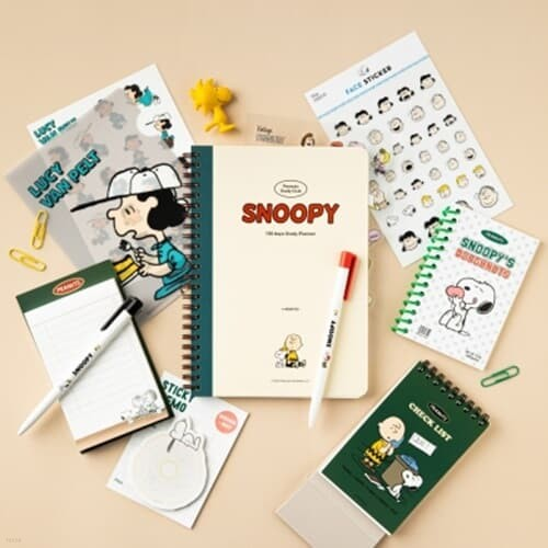 [Peanuts] 공부세트_스누피와 친구들